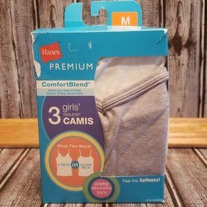 Hane's girls tagless camis